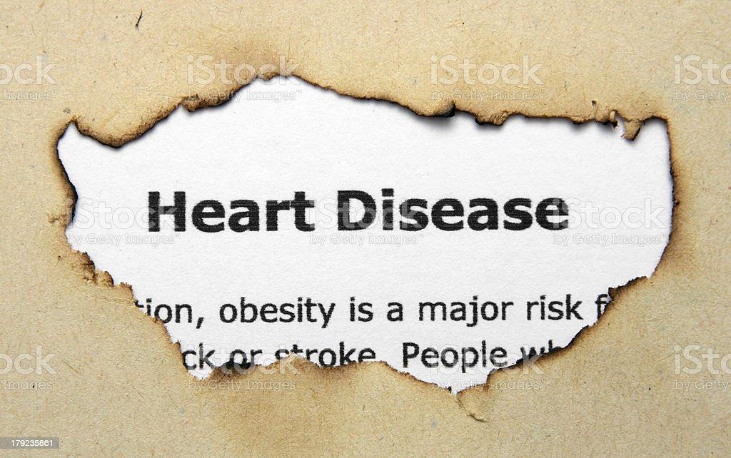 Heart disease royalty-free stock photo
