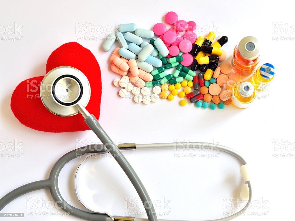 Heart disease stock photo