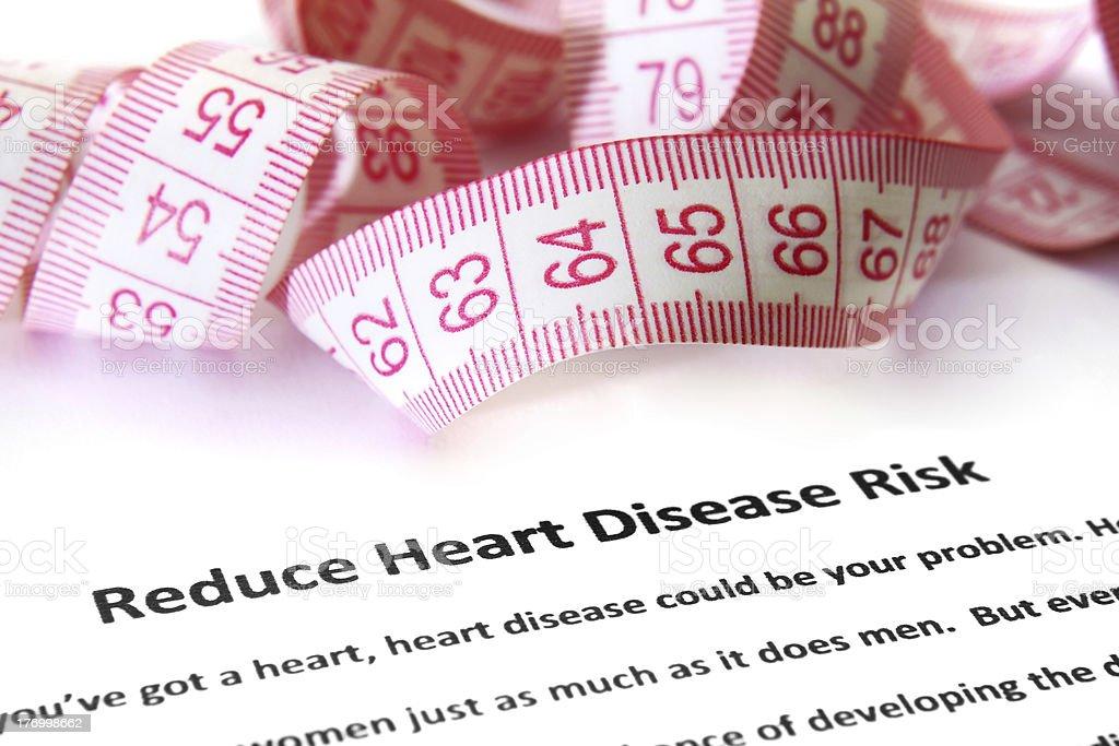 Heart disease risk stock photo