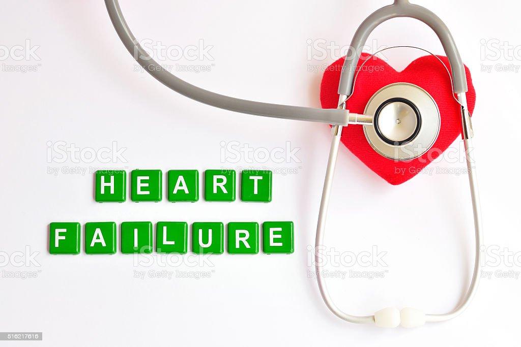 Heart failure stock photo