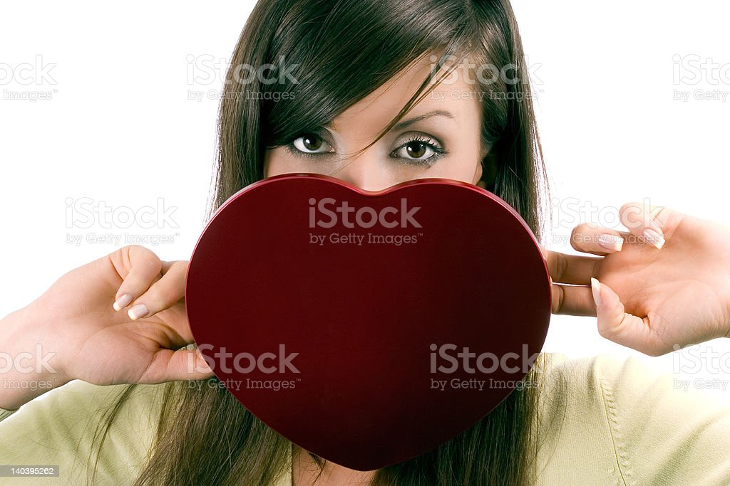 Heart for beloved royalty-free stock photo