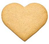 Heart Gingerbread Cookie