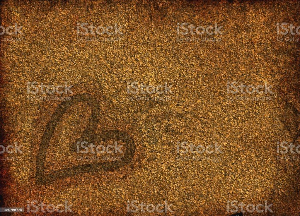 Heart Grunge Texture stock photo