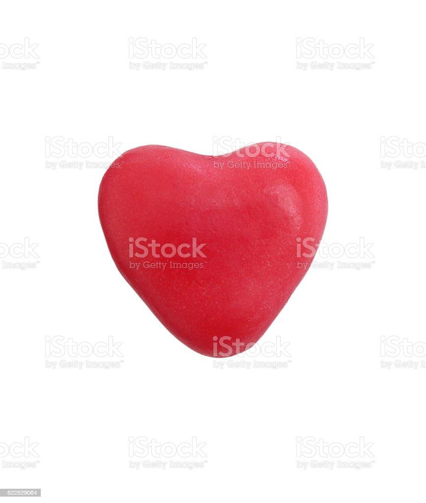 Heart gummy wine gum stock photo