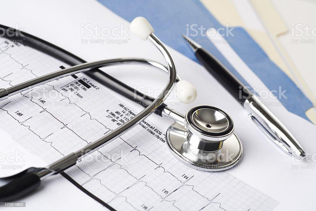 Heart Health royalty-free stock photo