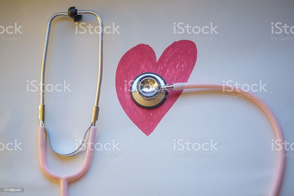 Heart Health royalty-free stock photo