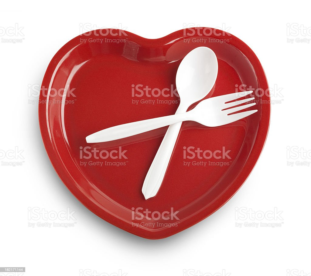 Heart healthy diet stock photo