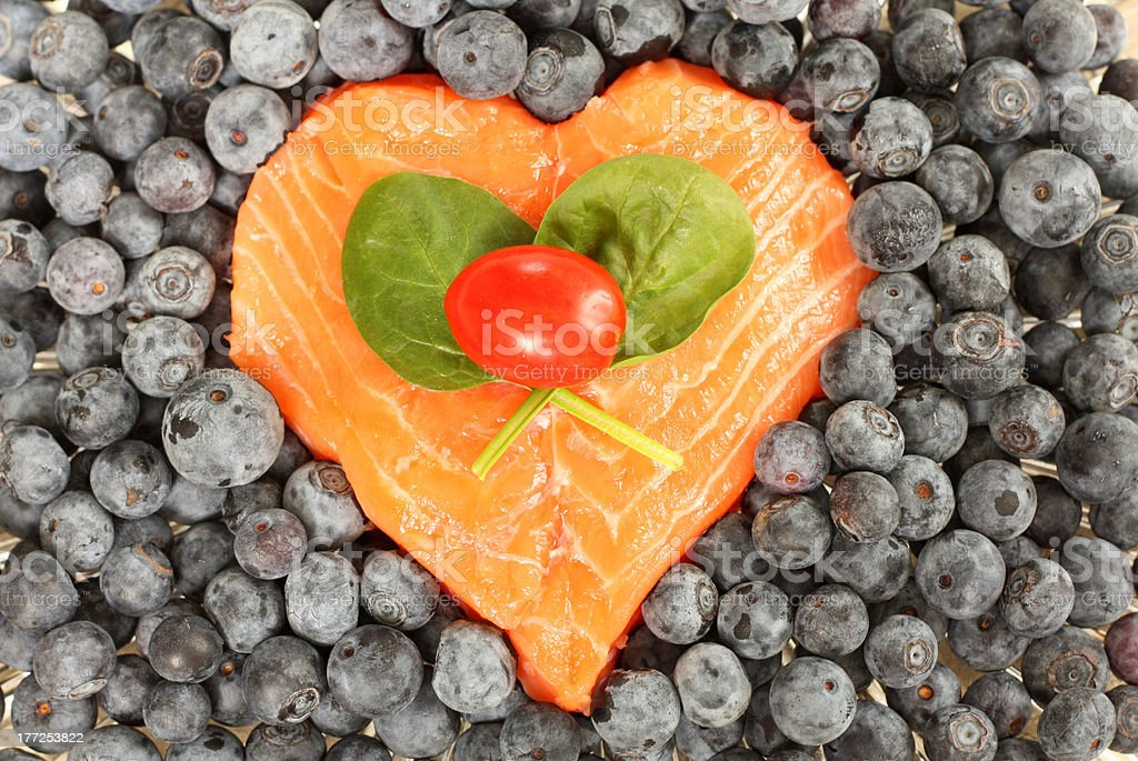 Heart Healthy Superfoods stock photo