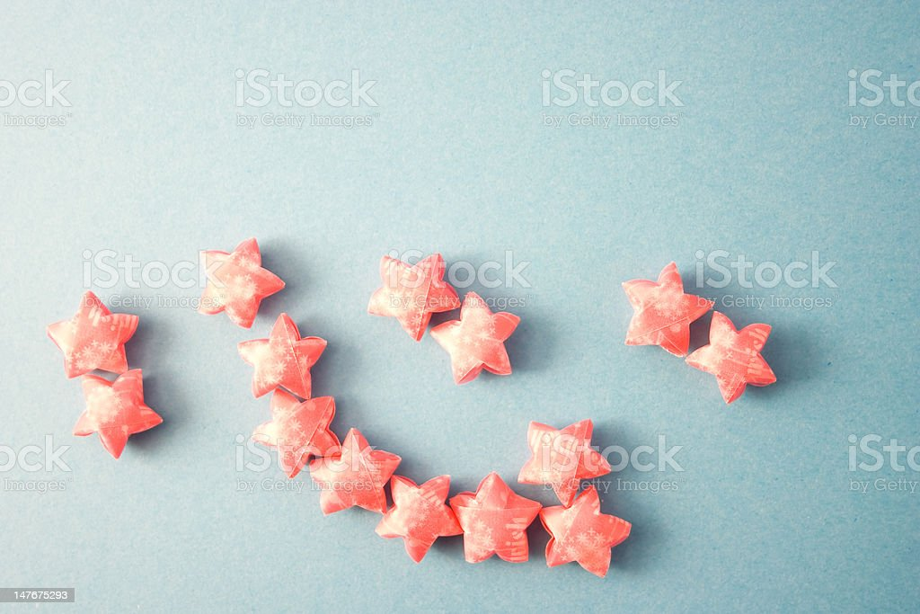 Heart in Chinese royalty-free stock photo