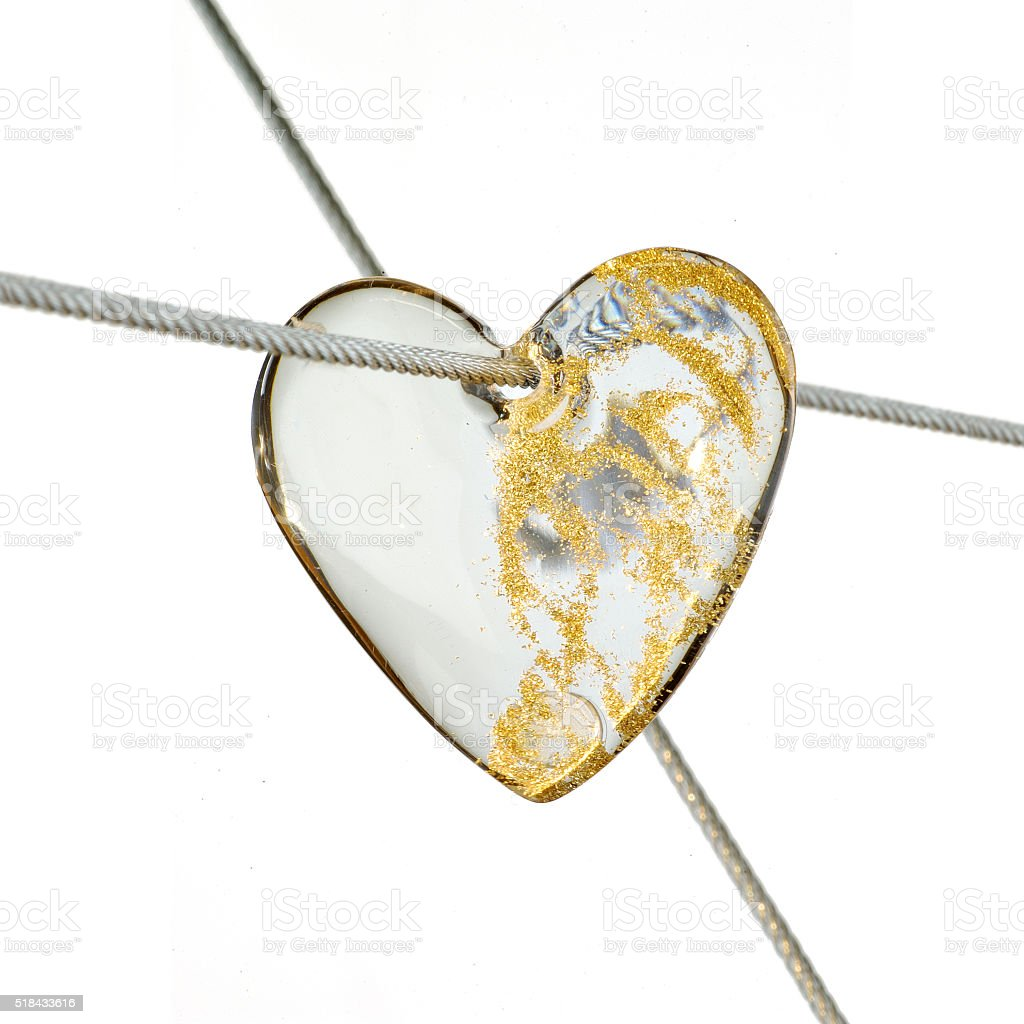 Heart  jewel stock photo