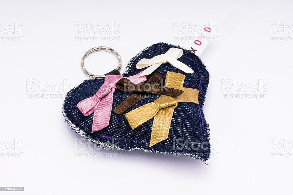 Heart Keychain stock photo
