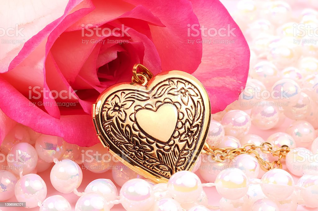 Heart Locket royalty-free stock photo