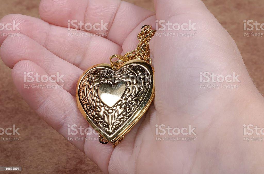 Heart Locket royalty-free stock photo