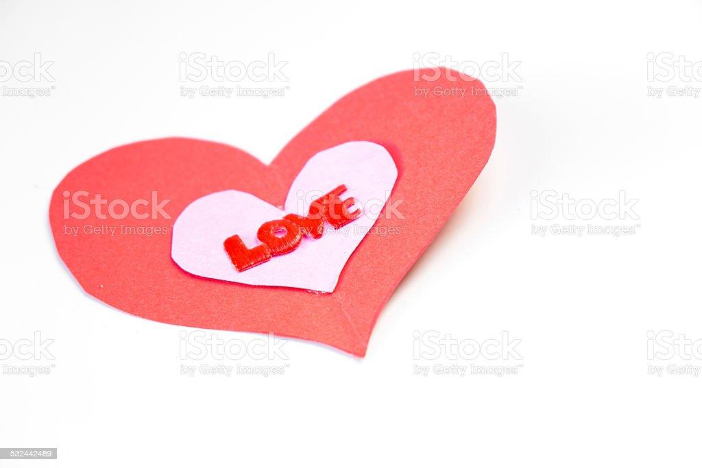 Heart Love stock photo