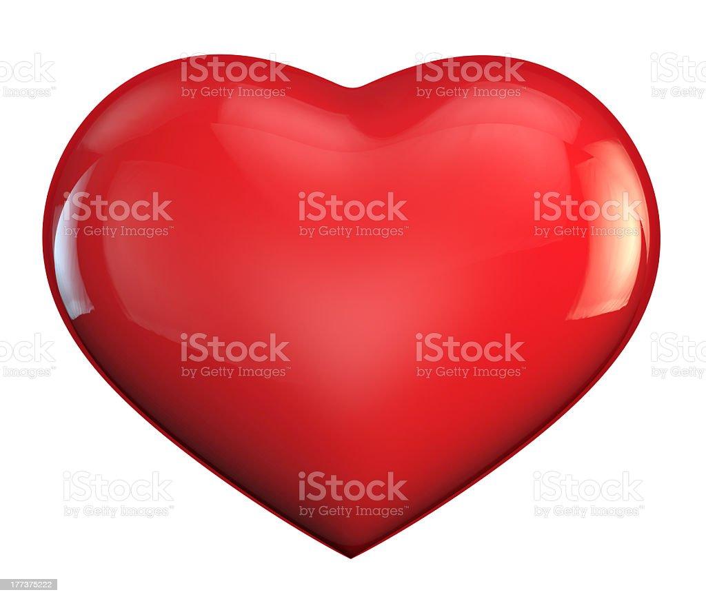 Heart love symbol royalty-free stock photo