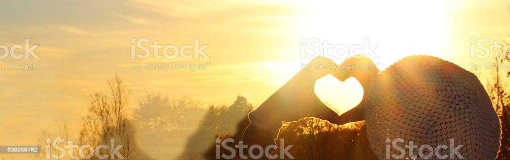 Heart Love Symbol stock photo