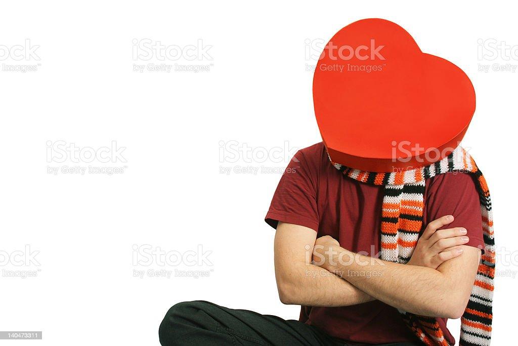 heart man royalty-free stock photo