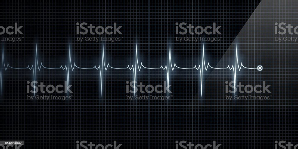 Heart Monitor stock photo