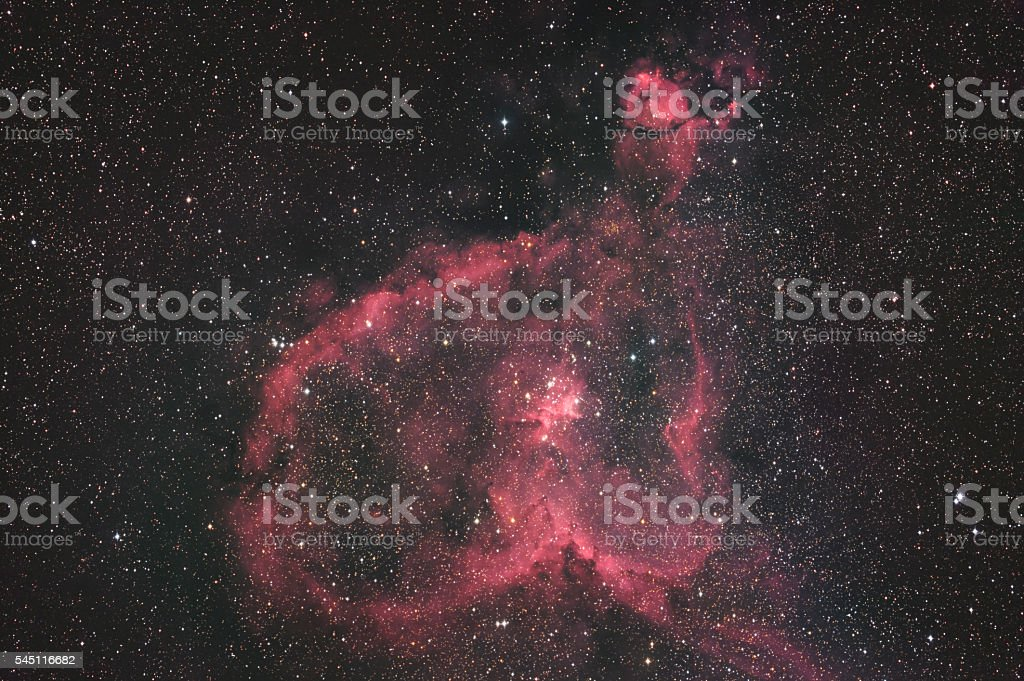 Heart Nebula stock photo