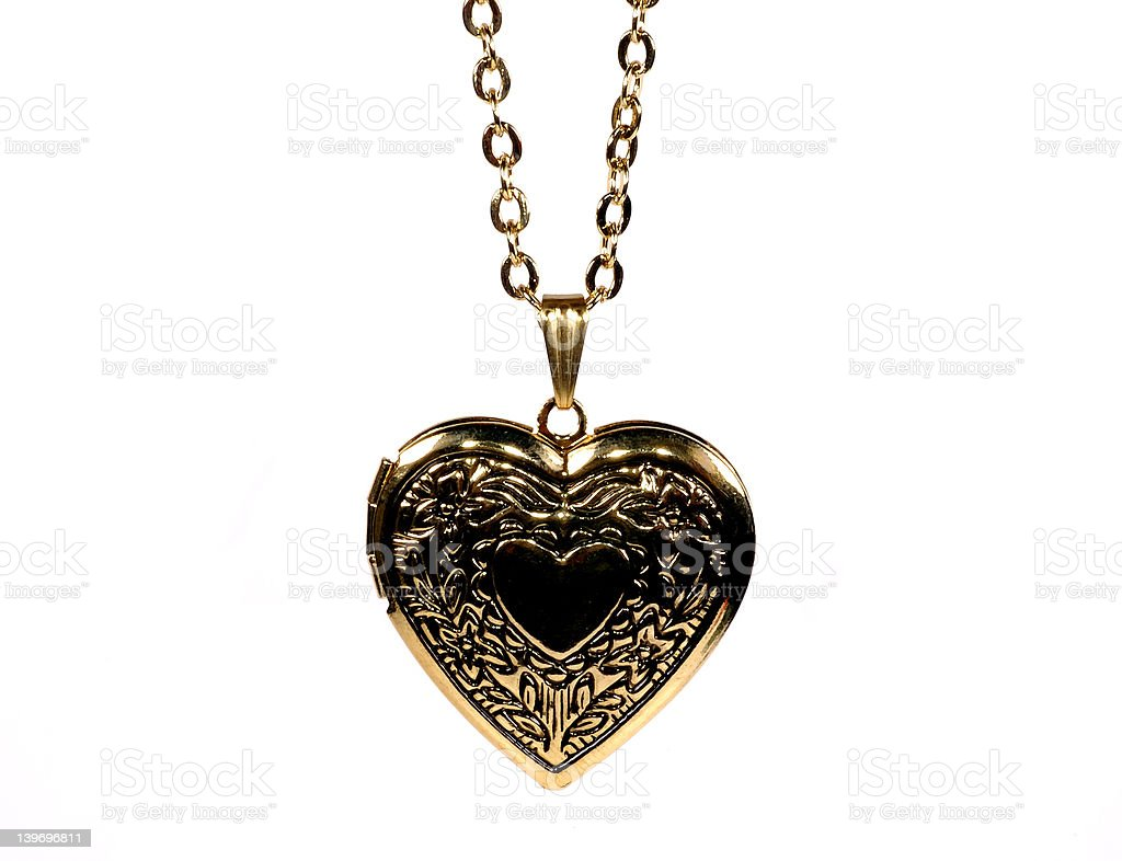 Heart Necklace royalty-free stock photo