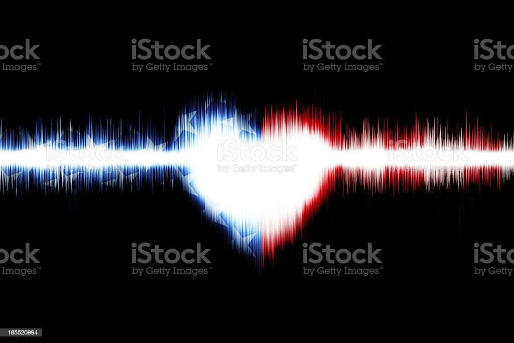 Heart of American royalty-free stock photo