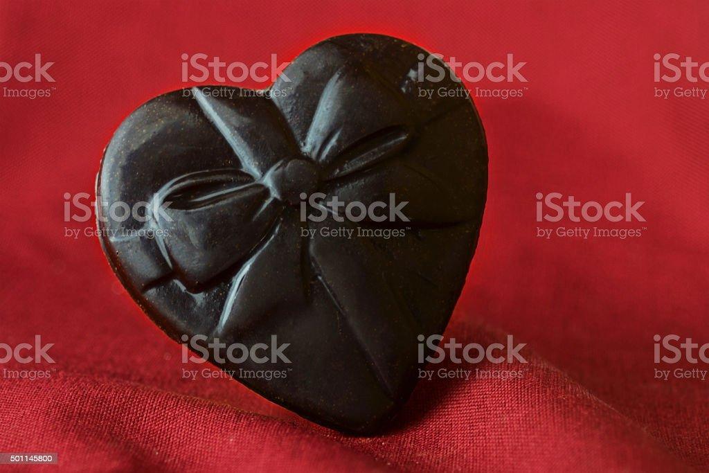 Herz von Schokolade Lizenzfreies stock-foto