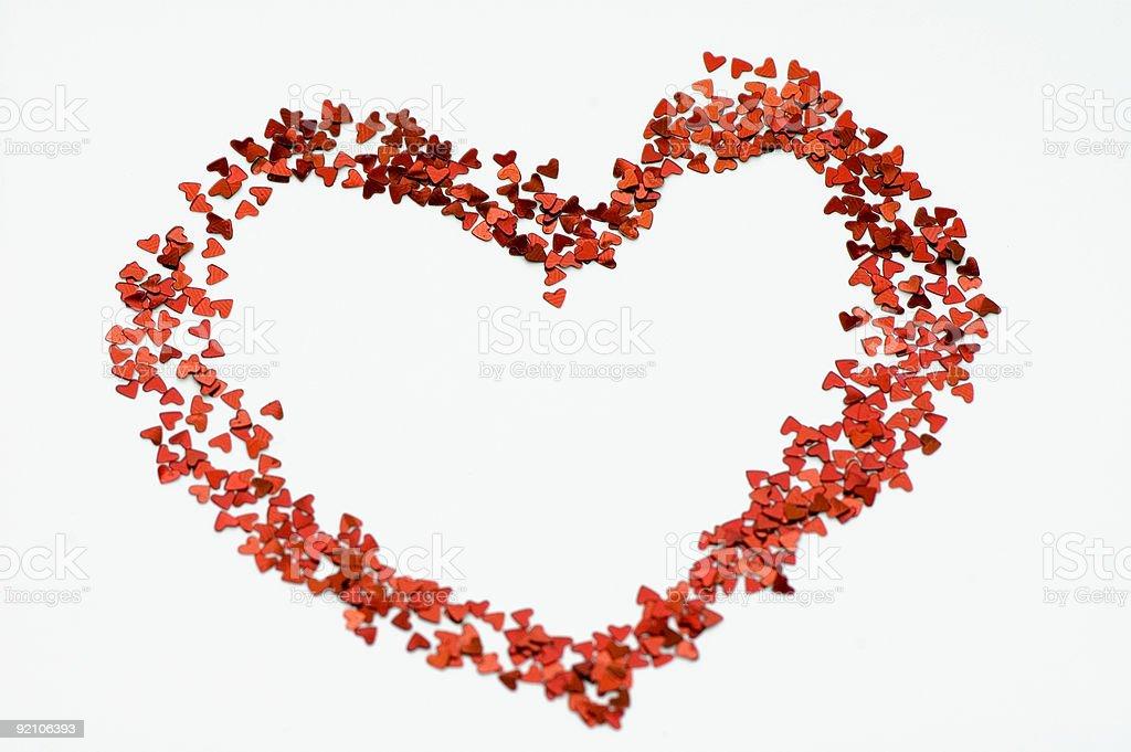 Heart of hearts royalty-free stock photo