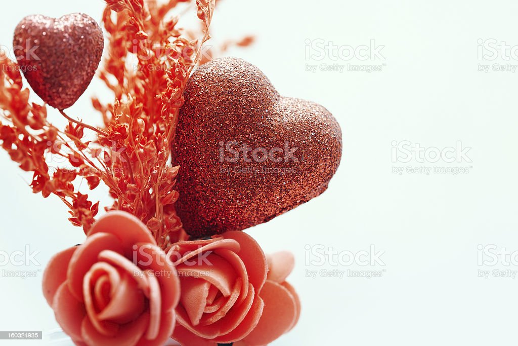 Heart of love royalty-free stock photo