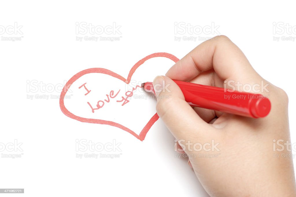 Heart of Love royalty-free stock photo