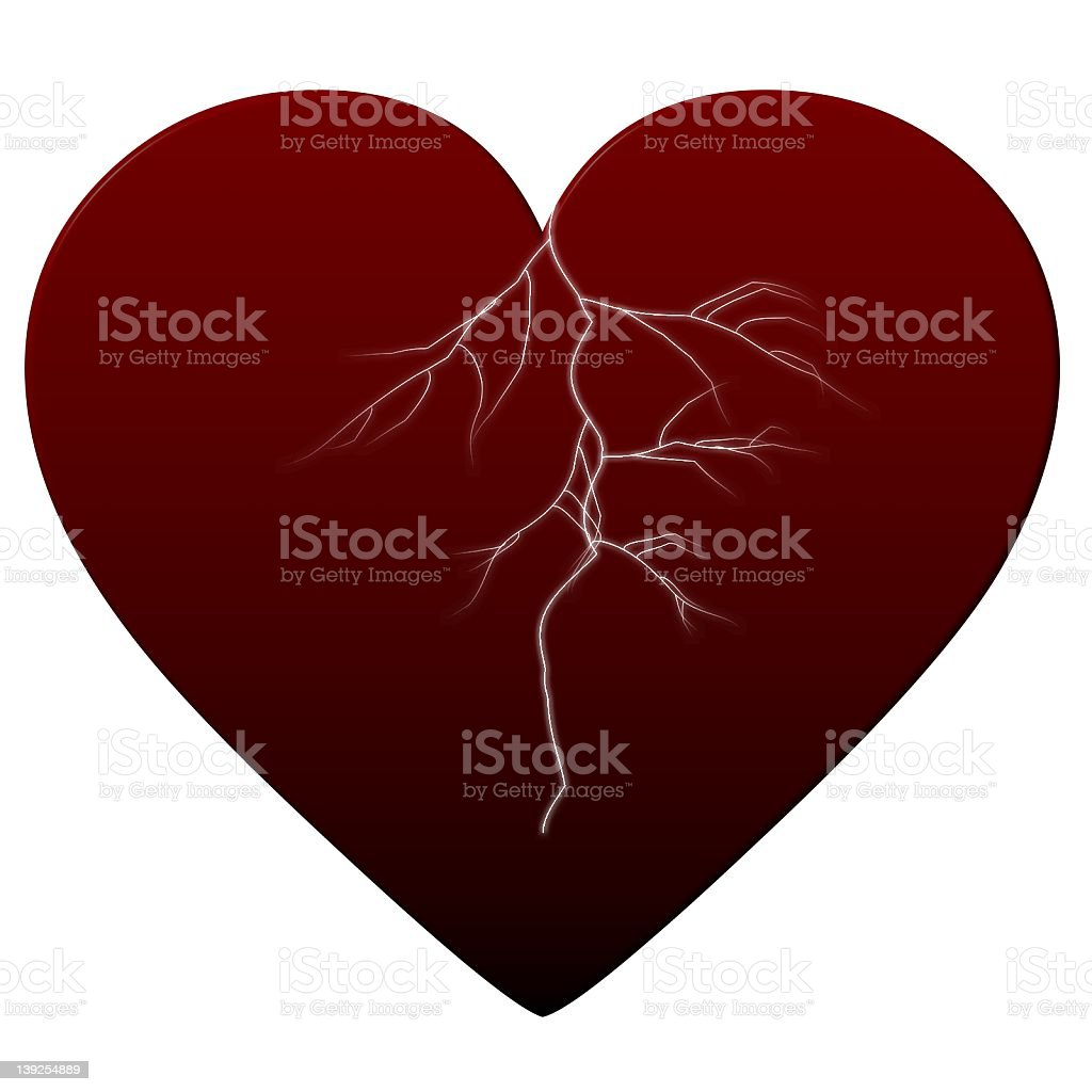 Heart of Passion stock photo