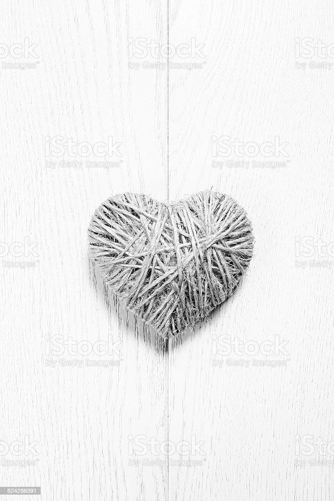 heart of rope stock photo
