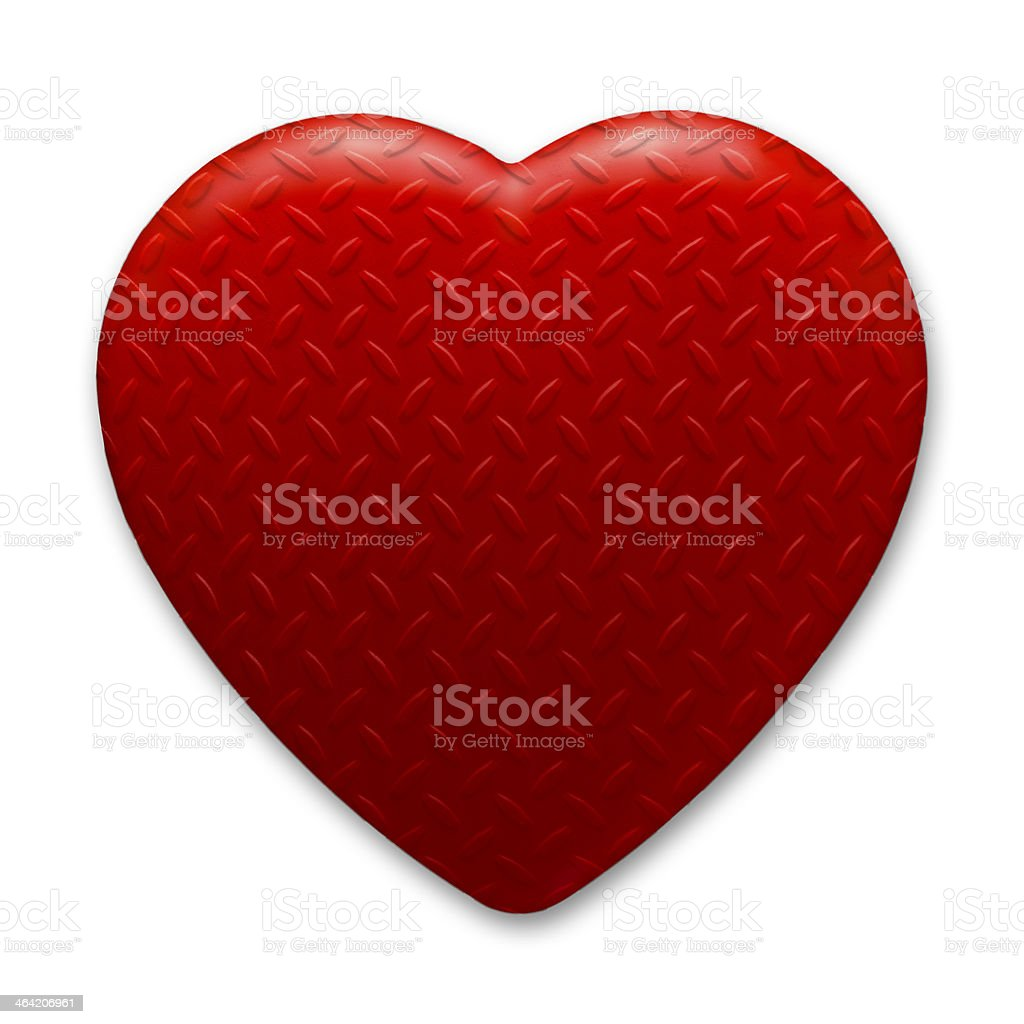 Heart of Steel royalty-free stock photo