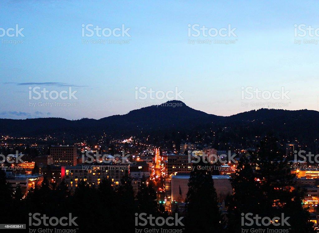 Heart Of The City stock photo
