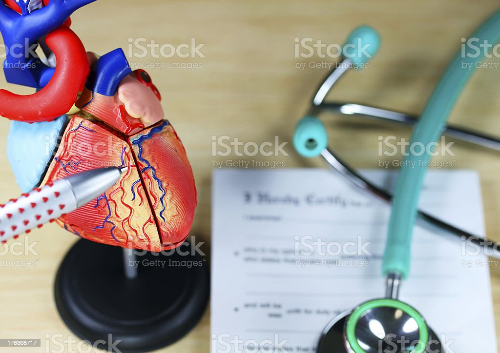 Heart Of The Problem stock photo