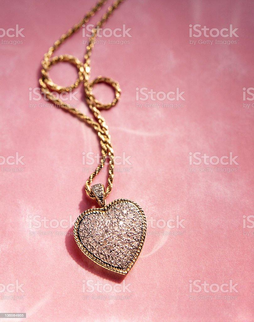 Heart Pendant royalty-free stock photo