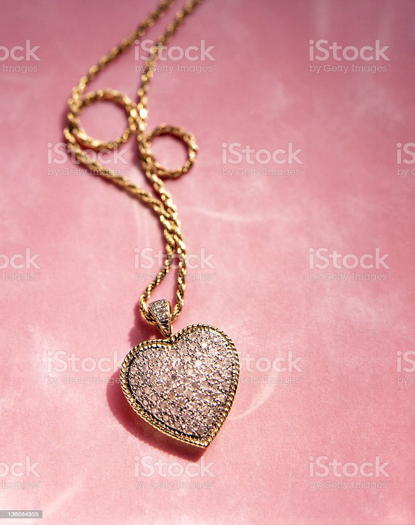 Heart Pendant stock photo