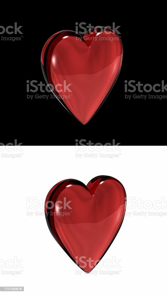 Heart (Love) royalty-free stock photo
