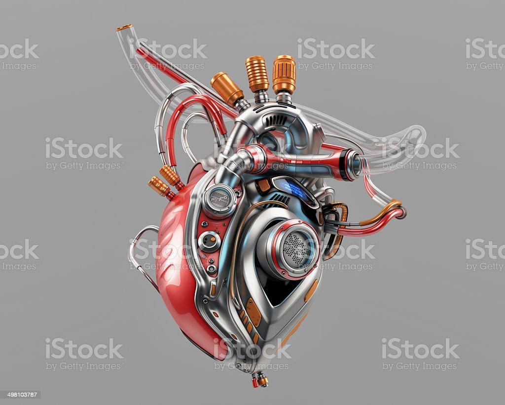 Heart Protocol Systems stock photo