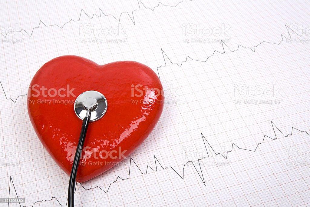 Heart Pulse Series royalty-free stock photo