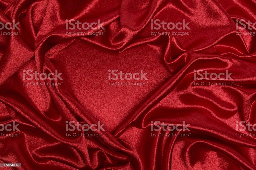 Heart Satin royalty-free stock photo