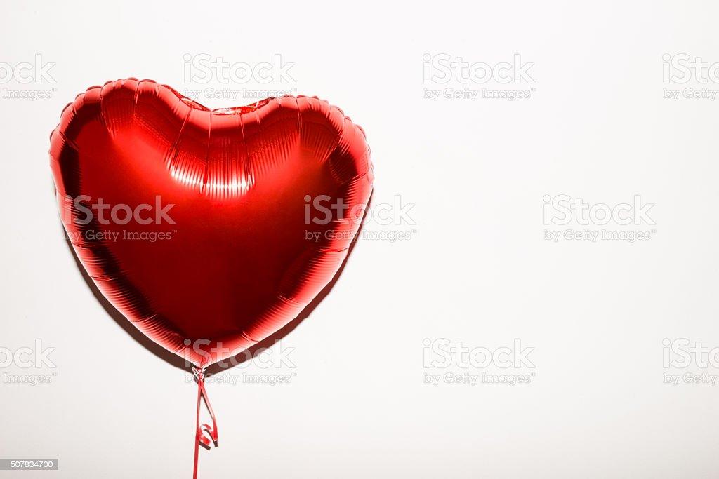 Heart Shape Balloon stock photo