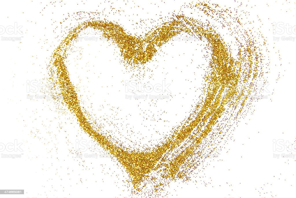 heart shape frame border stock photo