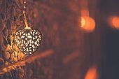Heart Shape Light, Love Background