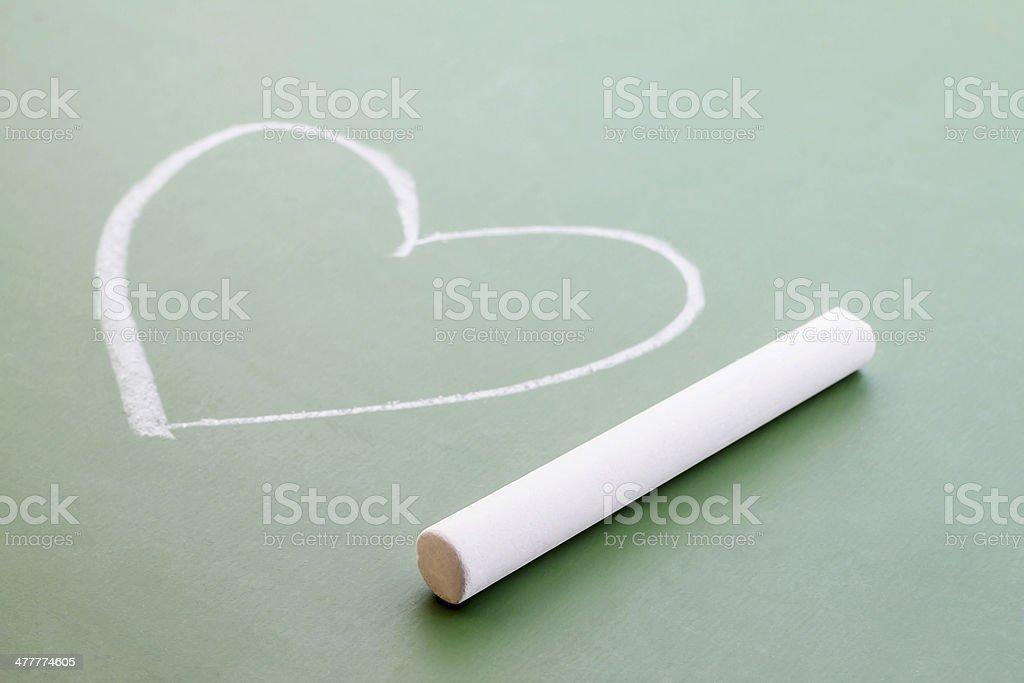 Heart shape. royalty-free stock photo