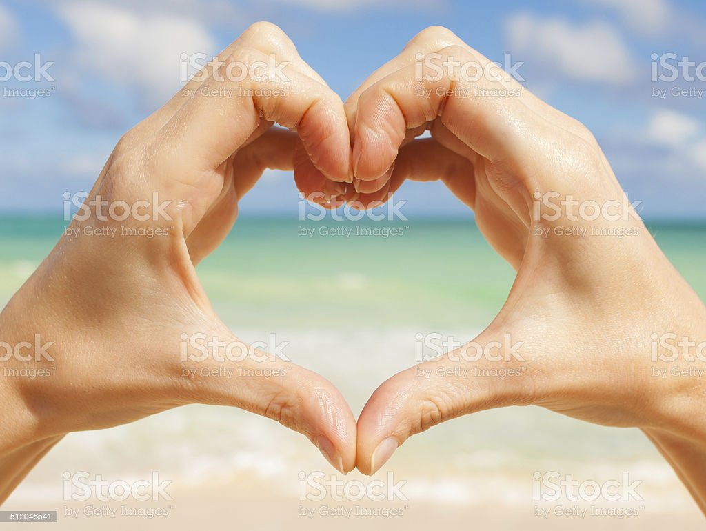 Heart shape. stock photo