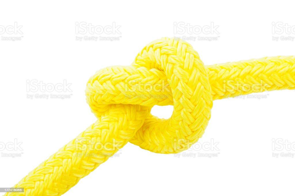 Heart shape rope. royalty-free stock photo