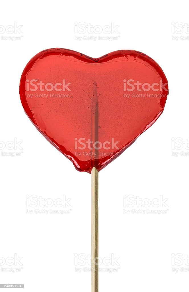 heart shaped candy isolated on white stock photo