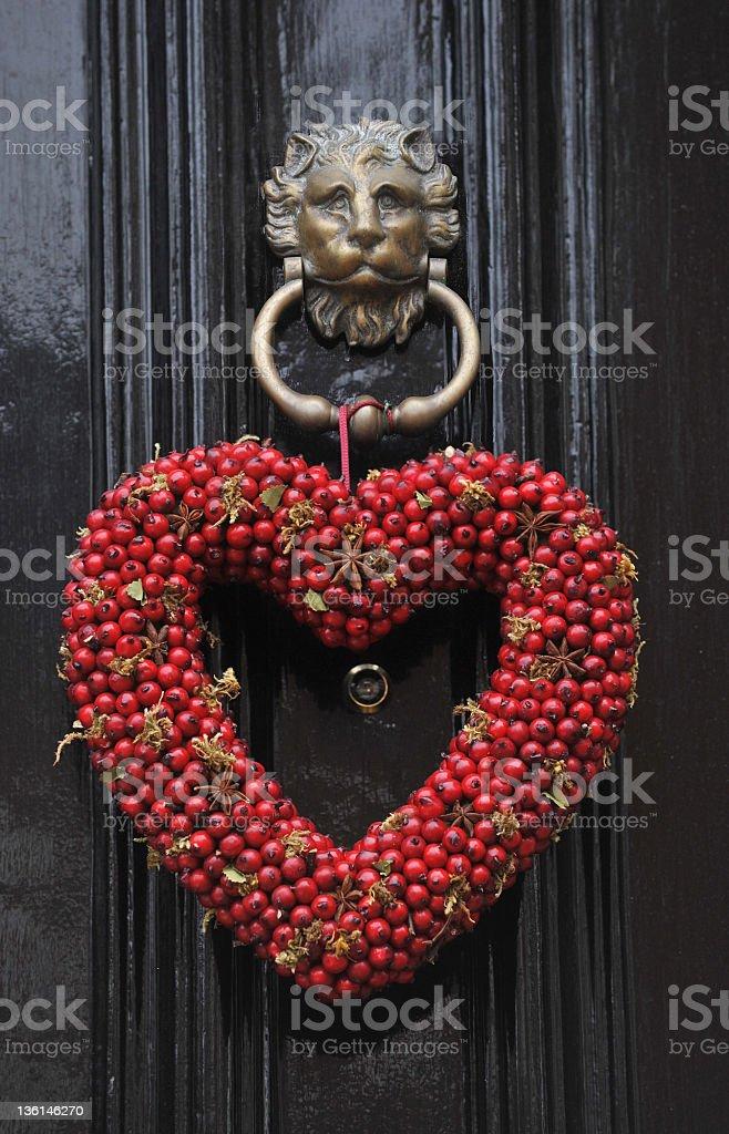 Heart Shaped decoration stock photo