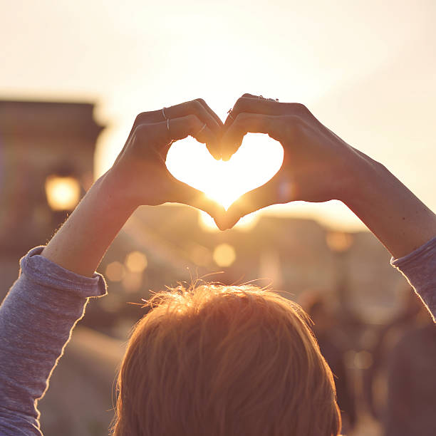 Heart Made Out Of Hands Silhouettes Pictures Images And Stock