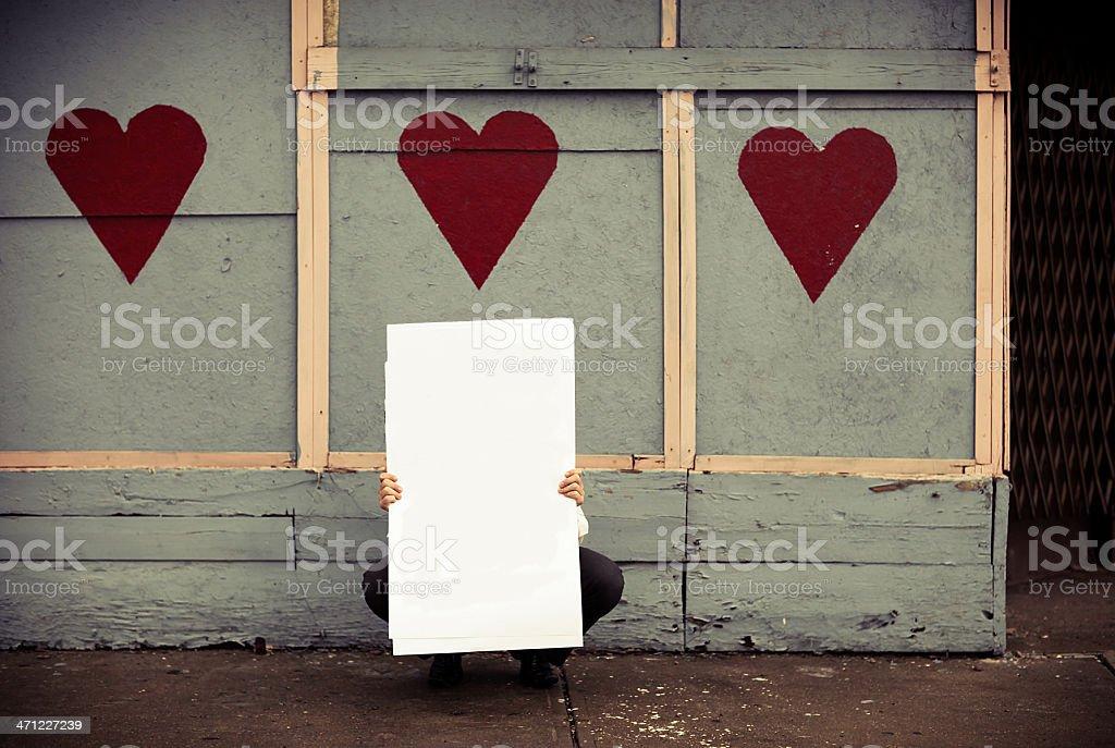 heart wall royalty-free stock photo